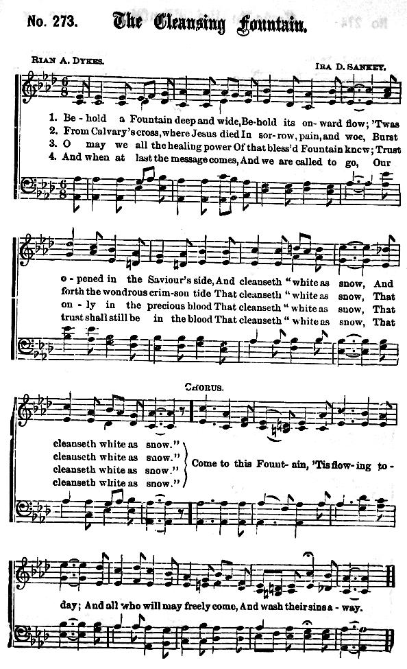 Lyric on the wings of a snow white dove lyrics : Gospel Hymns Alphabetical Index